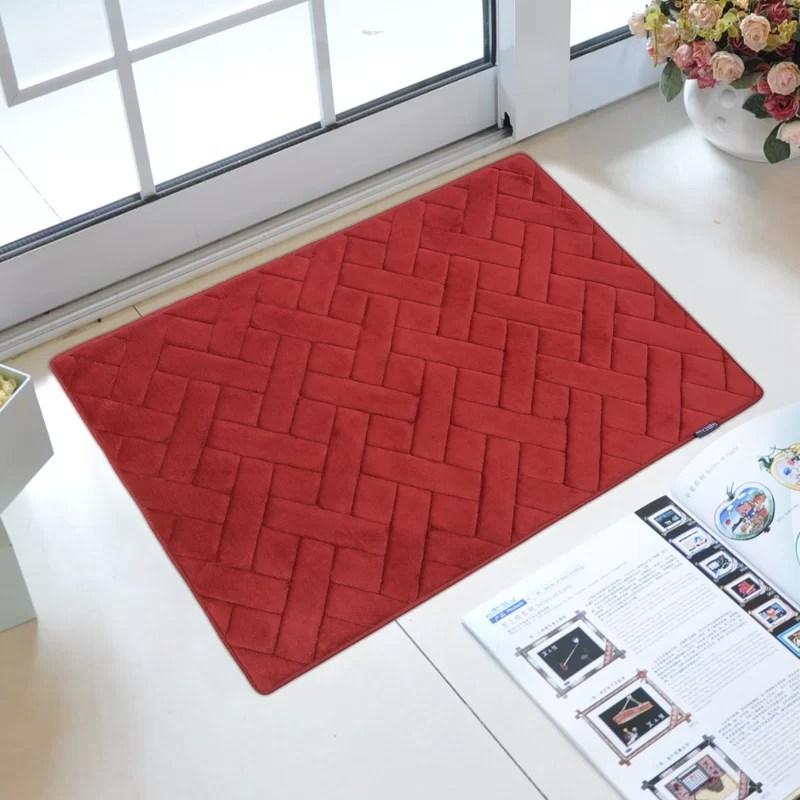 memory foam kitchen mats round white table fabbrica home mat reviews wayfair