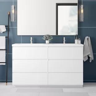 Modern 60 Inch Bathroom Vanities Allmodern