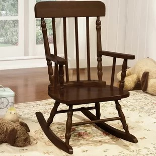 toddler wooden rocking chair angel covers kids wayfair quickview
