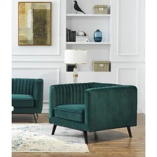 velvet chair design toddler sleeper green wayfair quickview