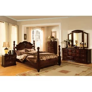 yearby four poster configurable bedroom set