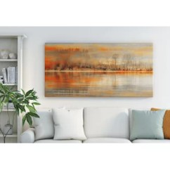 Wall Pictures Living Room Design Ideas Narrow Canvas Art Prints You Ll Love Wayfair Co Uk Serenity By Parvez Taj Framed Graphic Print On Wrapped
