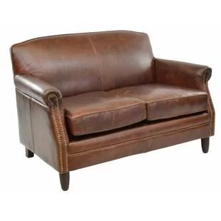 genuine leather sofa uk rowe sleeper mattress sofas armchairs chesterfield wayfair co adlington 2 seater loveseat