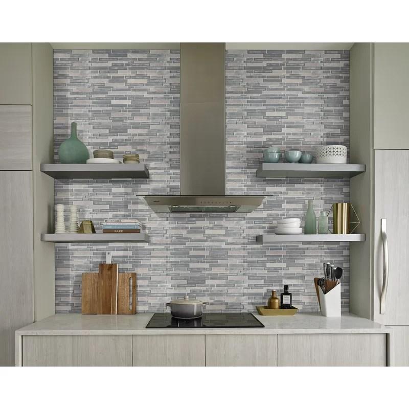 evita ice glass mosaic tile