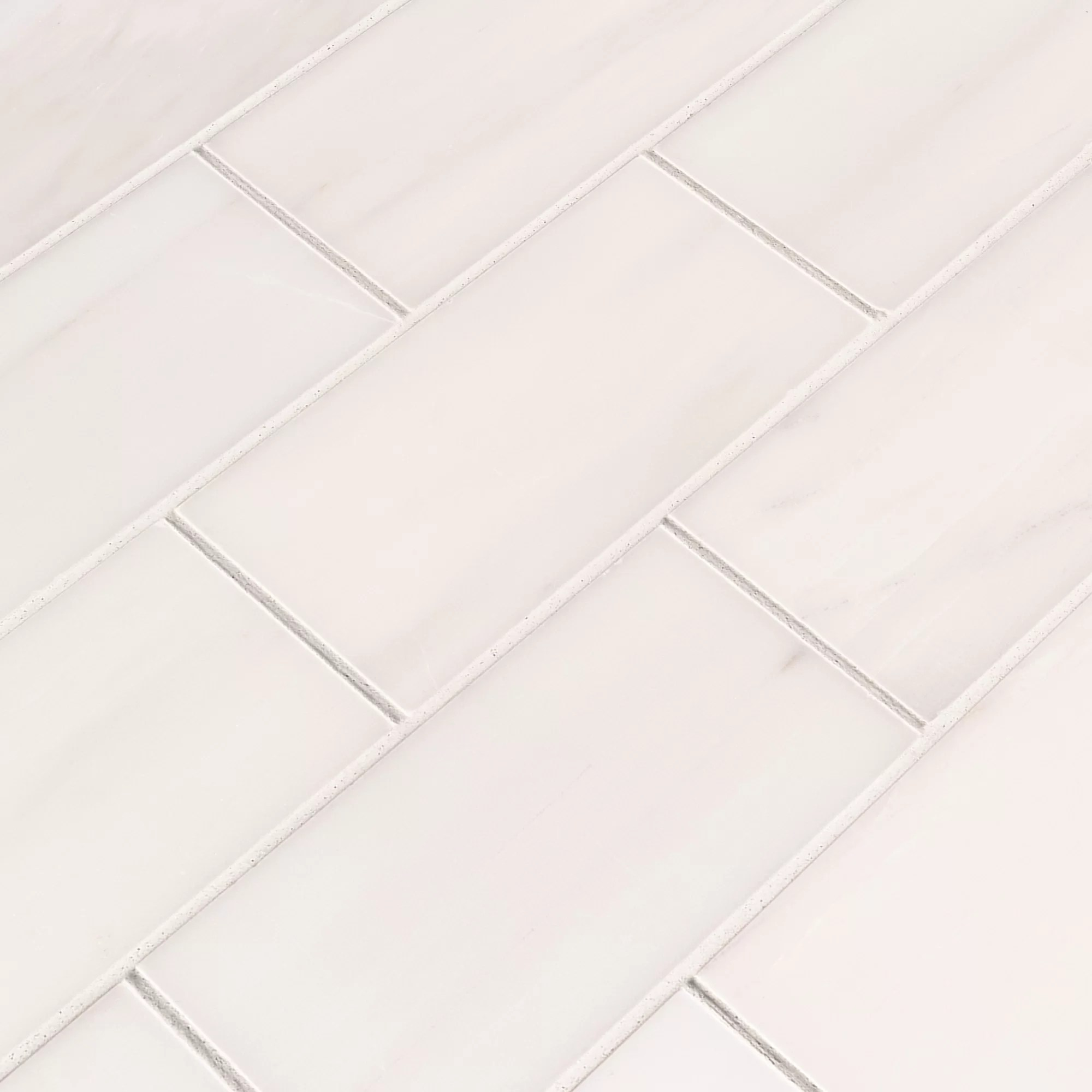 msi bianco dolomite 3 x 6 polished marble subway tile reviews wayfair