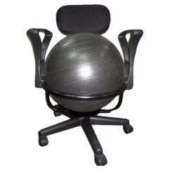 Office Chair Exercise Ball 3 Row Suv Captain Chairs You Ll Love Wayfair High Back