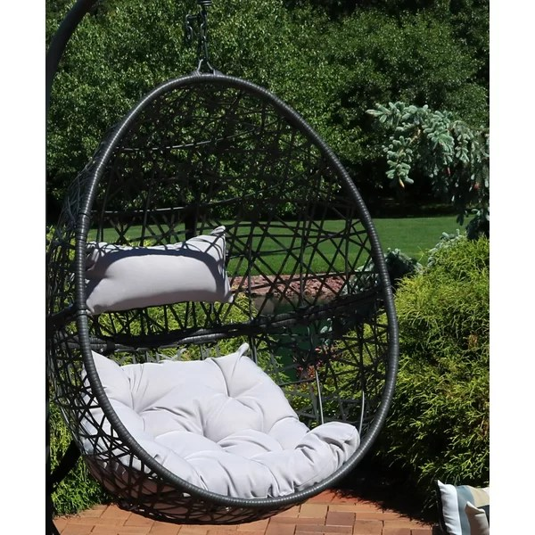 Outdoor Egg Swing Chair Wayfair