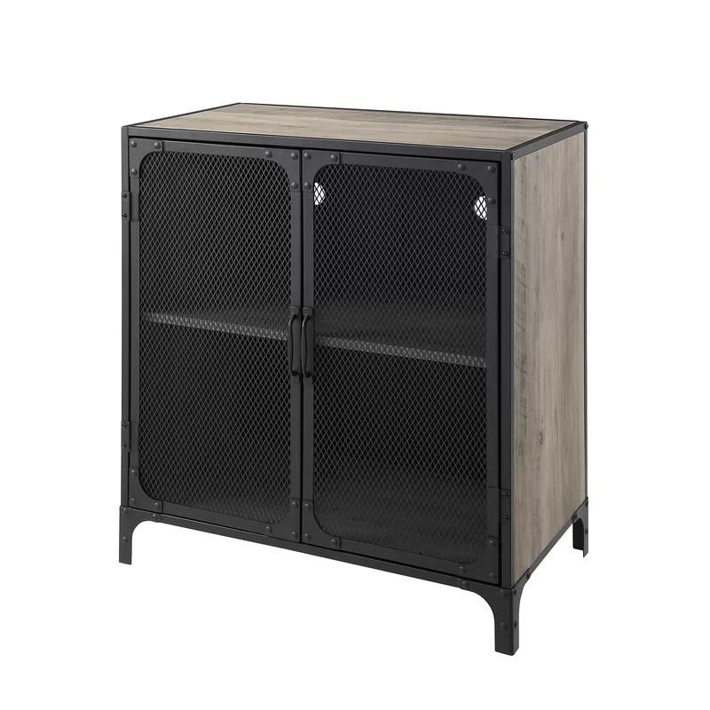 munich 2 door accent cabinet