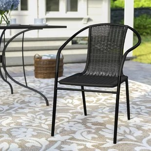 metal outdoor chair mission style chairs dining birch lane quickview