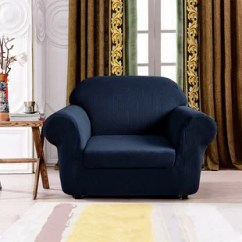 Living Room Chair Slipcovers Decor Ideas With Brown Leather Furniture You Ll Love Wayfair Quickview