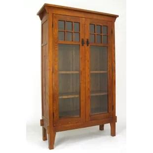 Hettinger Glass Door Accent Cabinet