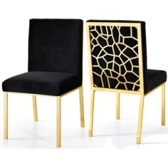 Gold Dining Chairs Wedding Chair Covers Hire In Cape Town Kitchen You Ll Love Wayfair Quickview