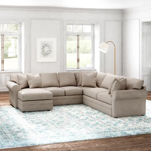 trudie 126 right hand facing u shaped sectional