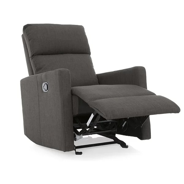pop up recliner chairs x back white modern recliners find the perfect chair allmodern
