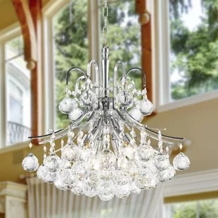 Carson 6-Light 60W Crystal Chandelier