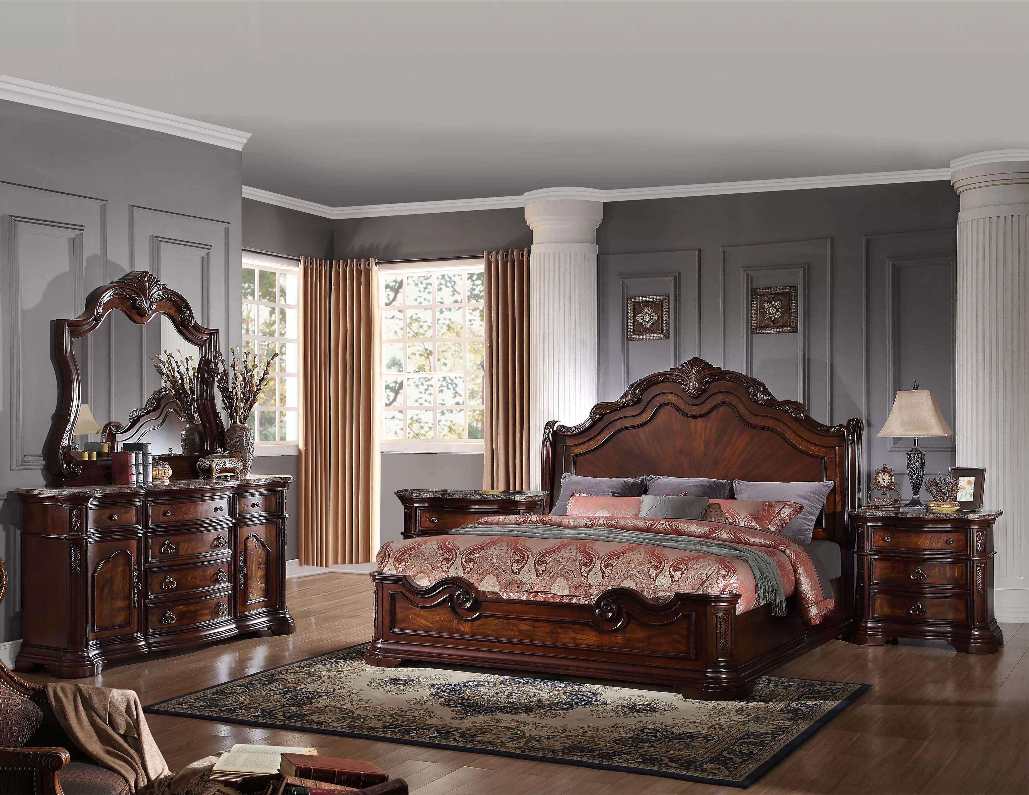 fletcher standard 5 piece bedroom set