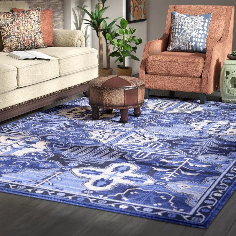 living rooms with blue area rugs room sectional ideas home bloomsbury market irma rug reviews wayfair
