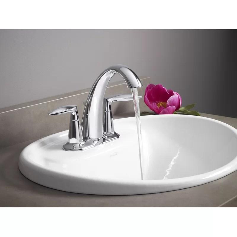 alteo centerset bathroom sink faucet