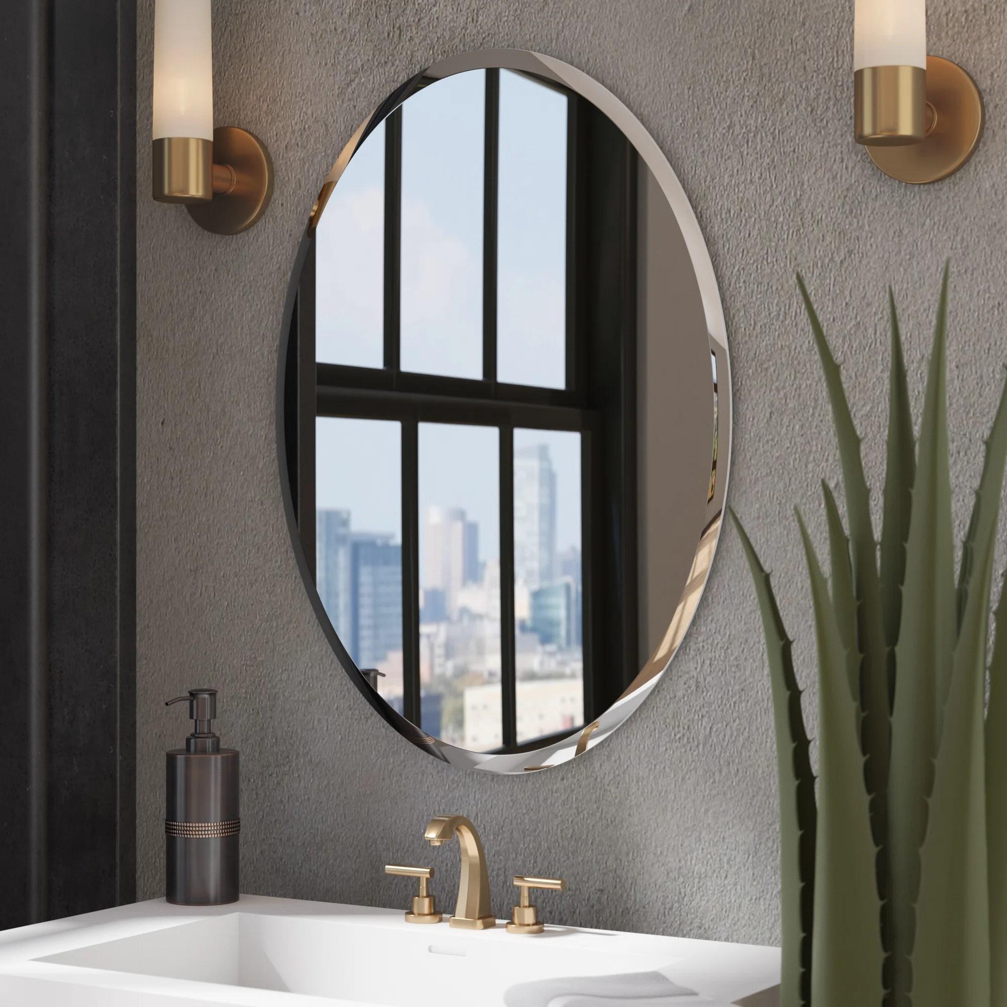 Kayden Bathroom Mirror Reviews Joss Main