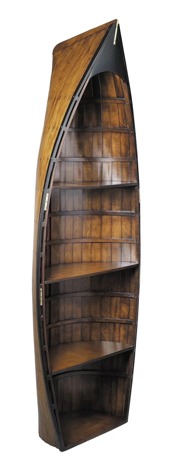 Gig Display Boat Bookcase