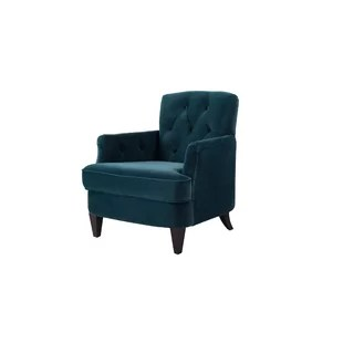 tufted accent chairs hauser rental chair covers teal wayfair save