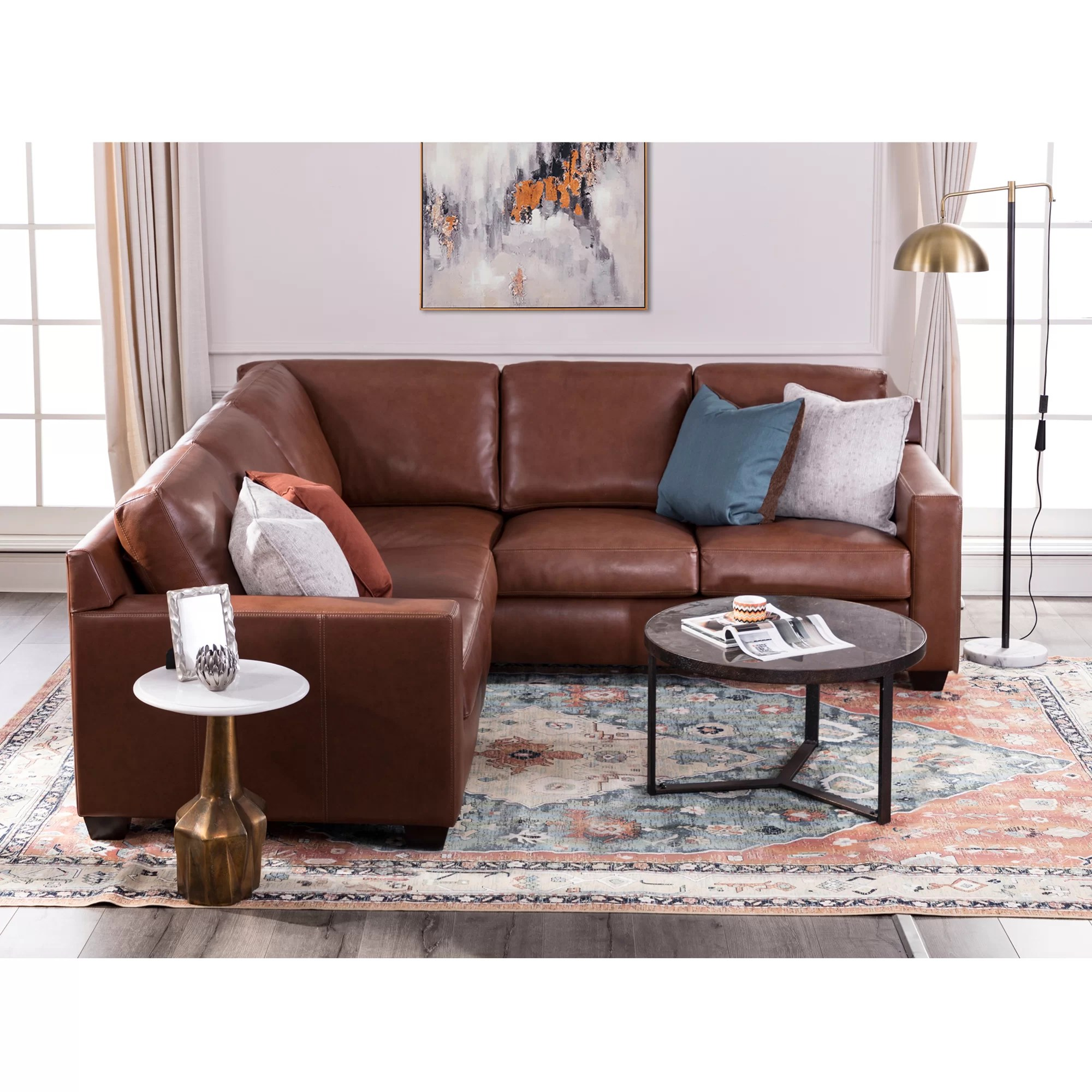 biaver 95 right hand facing corner sectional