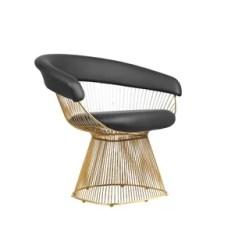 Black Wire Chair Recliner Sale Wayfair Alondra Dining