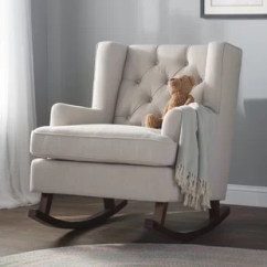 Nursery Rocking Chair Wayfair Barker Lounge Retro Ivanhoe