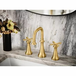 gold moen bathroom sink faucets you ll