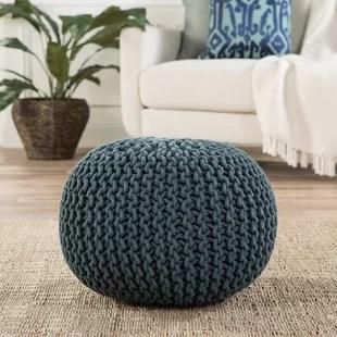 living room pouf colour scheme ideas poufs you ll love wayfair quickview