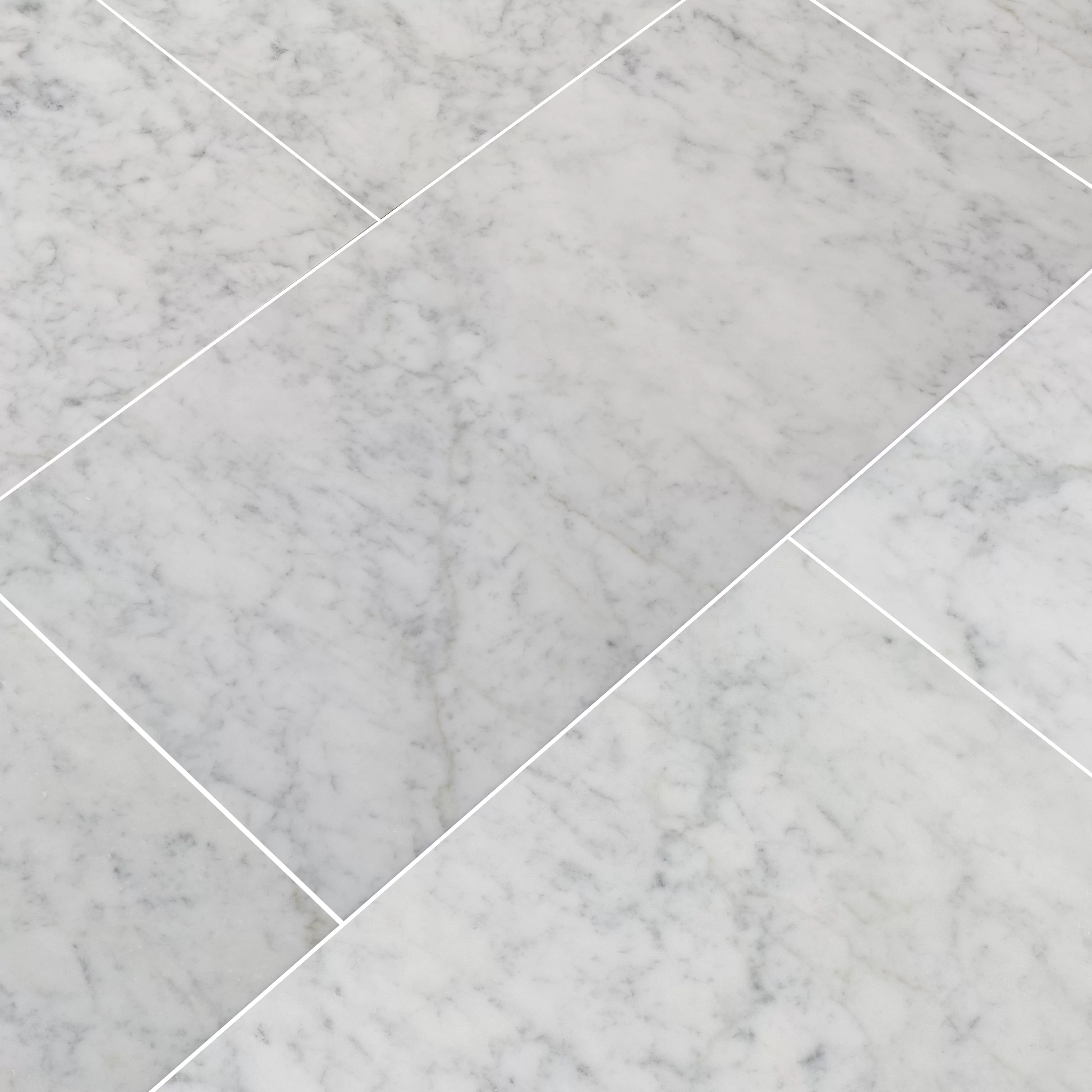 carrara 12 x 24 marble field tile