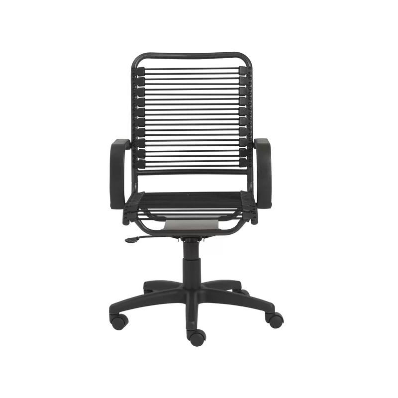 bungee office chairs flip zone chair wade logan tysen desk reviews wayfair