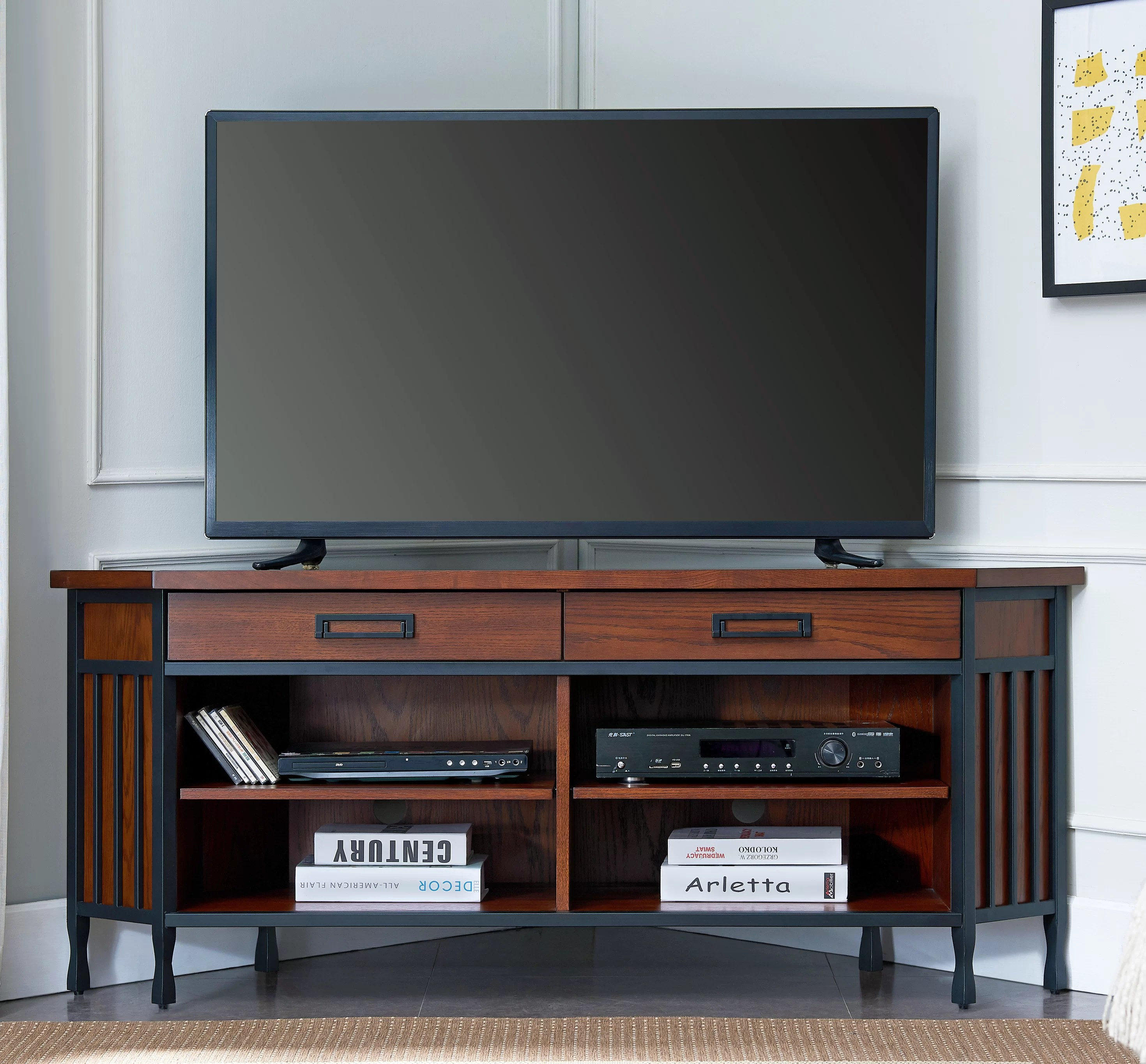 Alcott Hill Perao Tv Stand For Tvs Up To 65 Reviews Wayfair