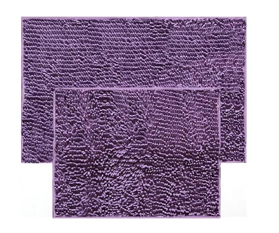 daniels bath 2 piece chenille bath rug set & reviews   wayfair