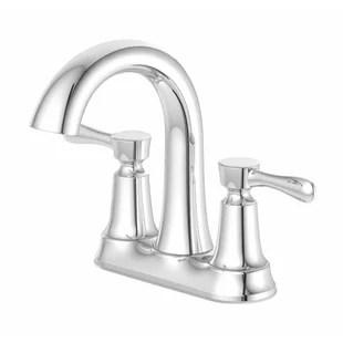 centerset bathroom faucet