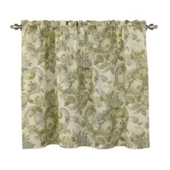 Kitchen Drapes Storage Units Curtains Valances You Ll Love Wayfair Spring Bling Curtain Set Of 2