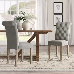 modern gray dining chairs zero gravity chair recliner wingback wayfair quickview