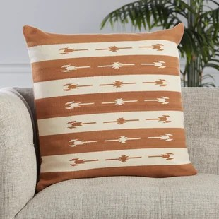 orange throw pillows joss main