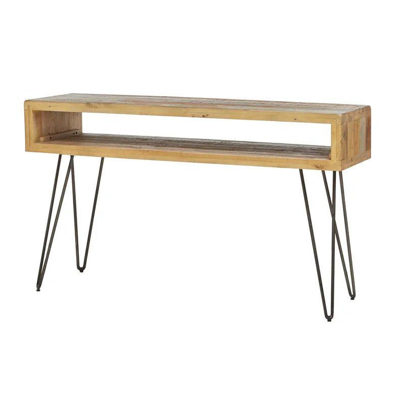 stella sofa table sleeper stores nyc console allmodern