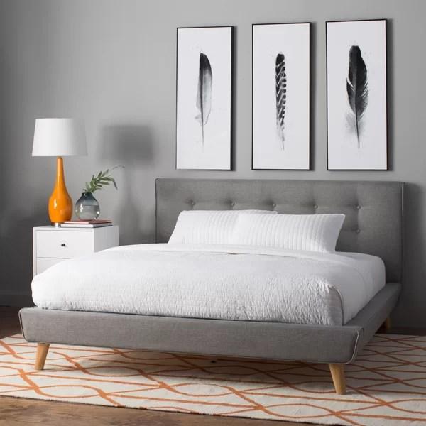 best mid century modern beds frames