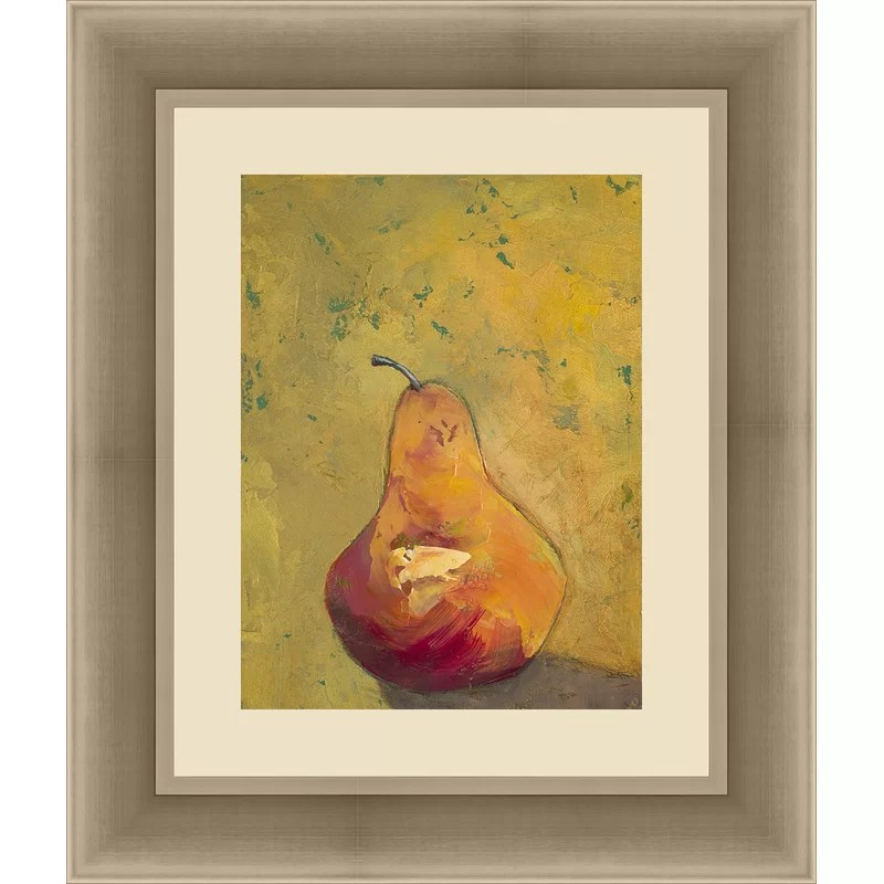 Trends Bold Fruit II Framed Painting Print