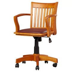 Wood Office Chair Red Black Covers Chairs You Ll Love Wayfair