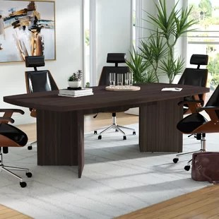 conference tables and chairs wingback chair ottoman you ll love wayfair quickview