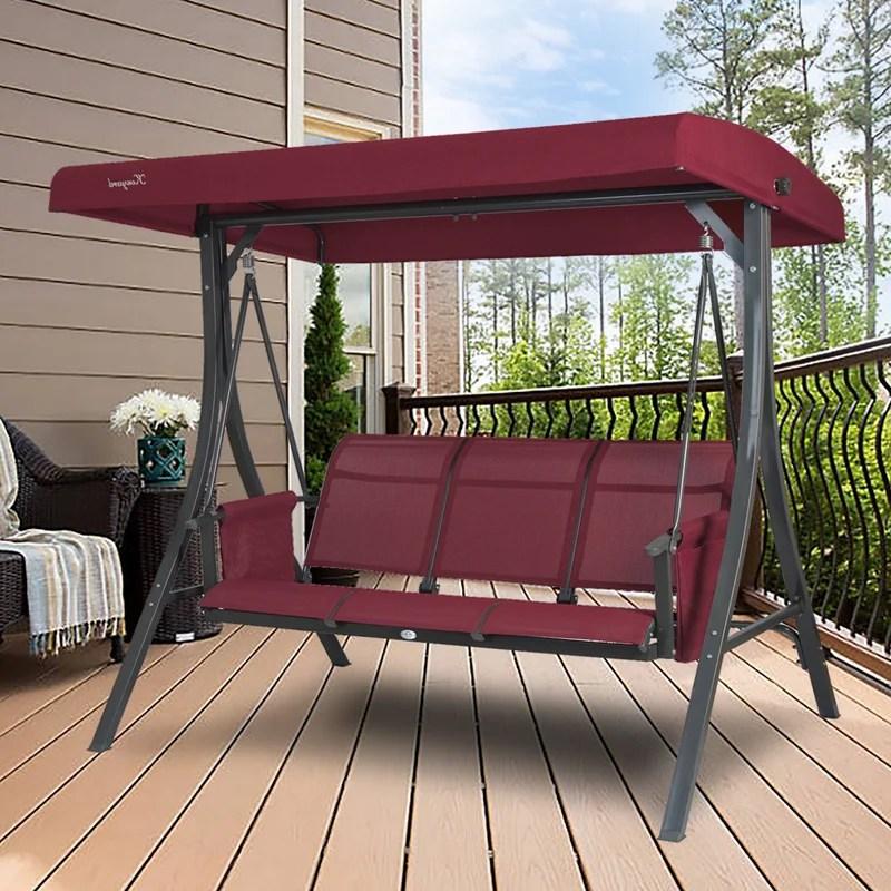 breda patio swing chair colour beige