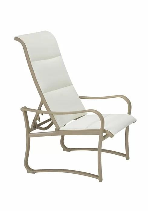 recliner patio chair covers youtube tropitone shoreline padded sling wayfair
