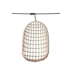 Swing Chair Wayfair Blue Kitchen Cushions Egg Shaped Hanging Alvares Rattan