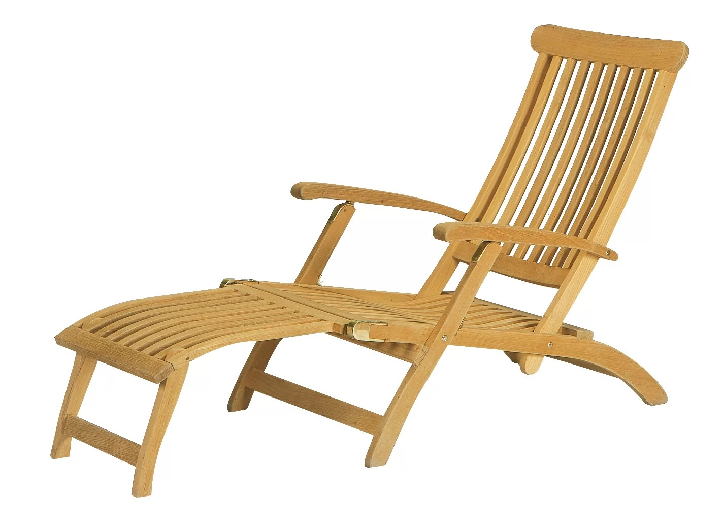 Teak Chaise Lounge Chairs Reclining Teak Chaise Lounge