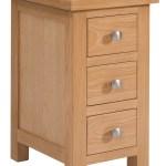 Alpen Home Carina 3 Drawer Bedside Table Wayfair Co Uk