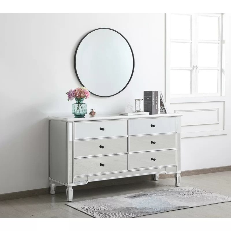 williams 6 drawer double dresser
