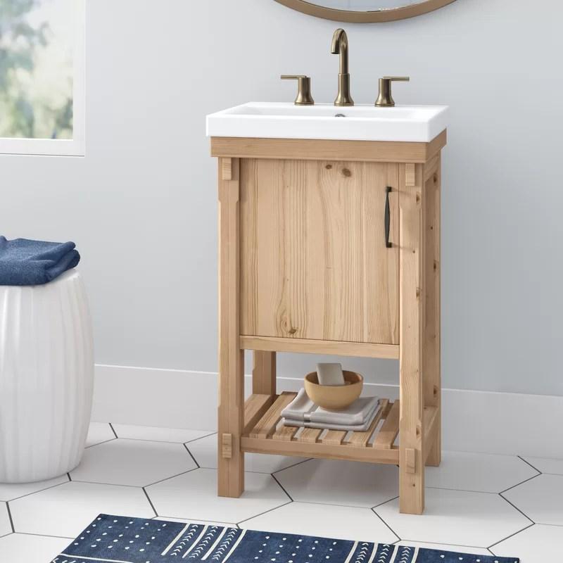 Whitten Rustic 20 Single Bathroom Vanity Set Reviews Joss Main